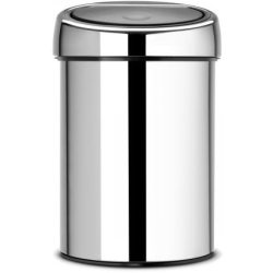 Brabantia Touch Bin 3 Litre Brilliant Steel