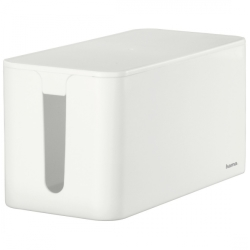 Hama Cable box Plastic White Rigid (L x W x H) 23.5 x 11.8 x 11.5 cm 1 pc(s) 00020661