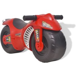 vidaXL Ride on Motorcycle Plastic Red