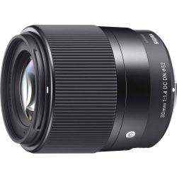 SIGMA 30 mm f 1.4 DC DN Standard Prime Lens for Sony