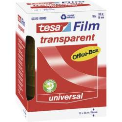 tesa 57372 00002 00 57372 00002 00 Tesa film tesafilm® Transparent (L x W) 66 m x 15 mm 10 pc(s)