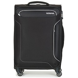 American Tourister HOLIDAY HEAT 67CM 4R women's Soft Suitcase in Black