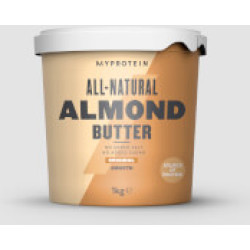 All Natural Almond Butter 1kg Original Smooth