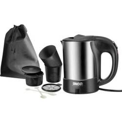 Unold 18575 Reis set Kettle corded Stainless steel Black