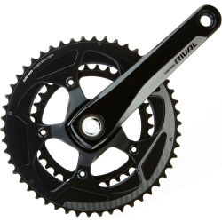 SRAM Rival 22 GXP Compact Chainset (11 Speed) 172.5mm 50.34T Black