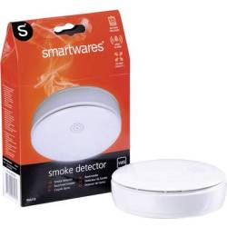 Smartwares 10.006.74 Smoke detector incl. 10 year battery battery powered