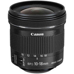 Canon EF S 10 18 mm f 4.5 5.6 IS STM Wide angle Zoom Lens