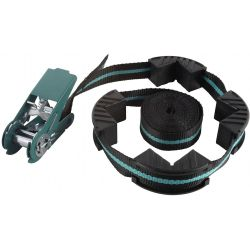 wolfcraft Ratchet Strap Tensioner with 4 Jaws 4 m 3441000