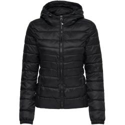 ONLY Short Quilted Jacket Women Black