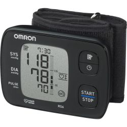 OMRON RS6 Wrist Blood Pressure Monitor Black Black