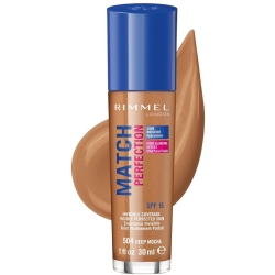 Rimmel Match Perfection Foundation 30ml (Various Shades) Deep Mocha
