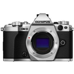 Olympus OM D E M5 Mark II Digital Camera Body Silver