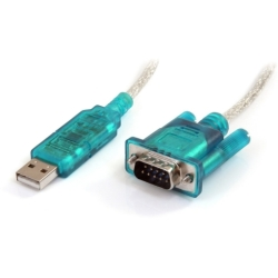 3ft USB to RS232 DB9 Serial Adapter Cable M M