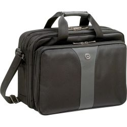 Wenger Laptop bag Legacy Double Gusset Suitable for up to 40 6 cm (16) Black grey