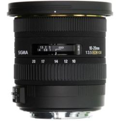 SIGMA EX DC HSM 10 20 mm f 3.5 Wide angle Zoom Lens for Canon