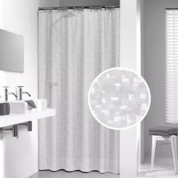 Sealskin Shower Curtain Perle 180 cm Transparent 210881300