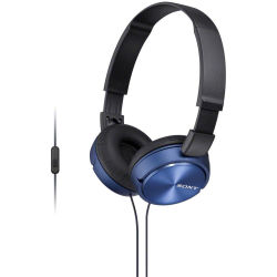 Sony MDR ZX310AP Stereo Headset Blue