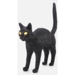 Seletti Jobby The Cat Lamp Black