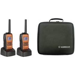 Albrecht Tectalk Float 29661 PMR handheld transceiver 2 piece set