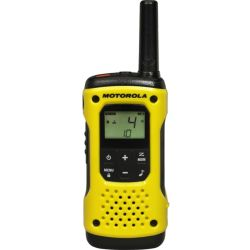 Motorola TLKR T92 H20 Walkie Talkie Yellow Black Yellow