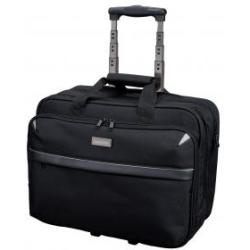 Lightpak Business Trolley Bag with Laptop Compartment Nylon Capacity