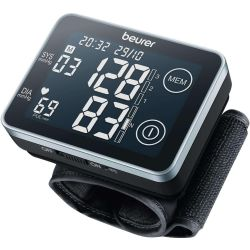 BEURER BC 58 Wrist Blood Pressure Monitor Black Grey Black