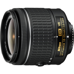 AF P DX 18 55mm f 3.5 5.6G VR Lens (White Box)