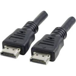 Manhattan HDMI Cable 1x HDMI plug 1x HDMI plug 22.5 m Black