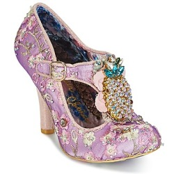 Irregular Choice PEA PODS women's Court Shoes in Purple