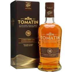 Tomatin 18 Year Old Oloroso Sherry Finish Highland Whisky