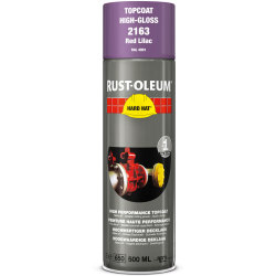 Rust Oleum Hard Hat Metal Spray Paint Red Lilac 500ml