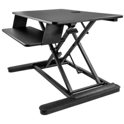 "StarTech.com Sit Stand Desk Converter Large 35"" Work Surface"