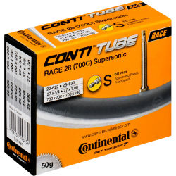 Continental Supersonic Road Long Valve Inner Tube 700 x 20 25c