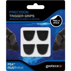 Gioteck Precision Trigger Grips for Sony PS4 Controller Black...