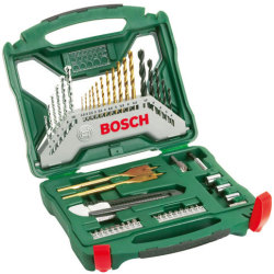 Bosch X Line 50 Piece Drill Bit and Power Tool Accessory Set