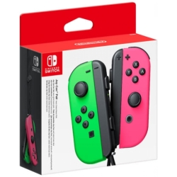 Nintendo Switch Joy Con Controller Pair (Neon Green Neon Pink)