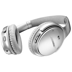 Bose QC35 II SIL Wireless NFC Noise Cancelling Headphones in Silver