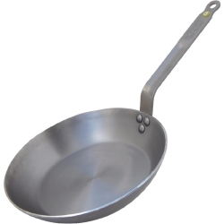 De Buyer Mineral B Black Iron Induction Frying Pan 260mm