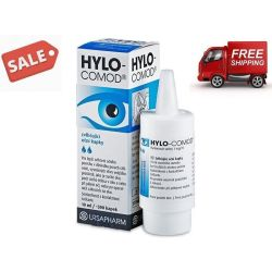 Ursapharm HYLO COMOD Lubricant Eye Drops with Sodium Hyaluronate (0.2 ) 10ml