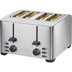 Profi Cook PC TA 1073 Toaster with home baking attachment Stainless steel