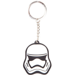 Star Wars The Force Awakens 3D Stormtrooper Mask Keychain One...