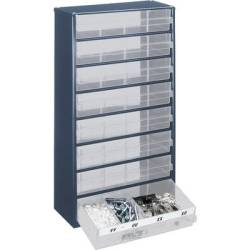 raaco 1208 03 Drawer cabinet (L x W x H) 306 x 150 x 552 mm No. of compartments 8