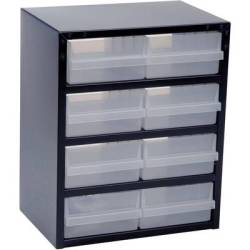 raaco 250 8 2 Small parts container (W x H x D) 357 x 435 x 255 mm No. of compartments 8