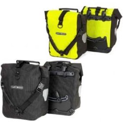 Ortlieb Front roller High Visibility Ps50cx Waterproof Panniers 25 Litre 25 Litre (Pair) Black Reflective