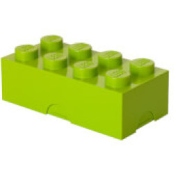 LEGO Lunch Box Bright Lime Green