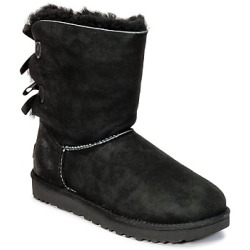 UGG BAILEY BOW II women's Mid Boots in Black
