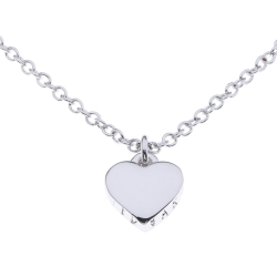 Ladies Ted Baker PVD Silver Plated Hara Tiny Heart Pendant Necklace TBJ1145 01 03