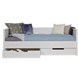 Jade Day Bed with Optional Storage Drawers by Woood