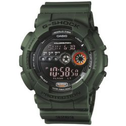Mens Casio G Shock Alarm Chronograph Watch GD 100MS 3ER