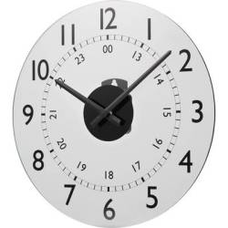 Quartz Wall clock Renkforce W784P NP 30.5 cm x 3.5 cm White